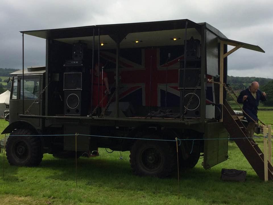 AEC Matador RAF Generator Truck