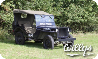 Willys MB Jeep 'The Beach Master'